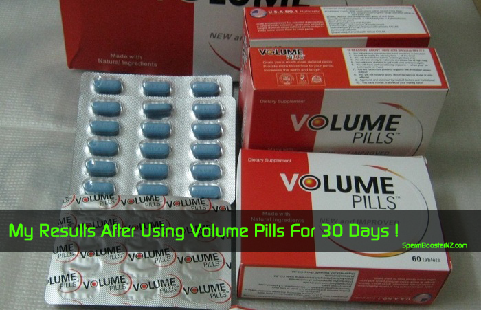 my results after using Volume Pills for 30 days